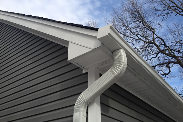 Gutters replacement windows doors and roofing by for New gutters